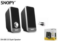 Snopy SN-830 2.0 Siyah Speaker USB SPK