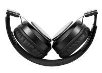 Snopy SN-BT40 RITM Siyah TF Kart Özellikli Bluetooth Kulaklık