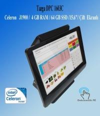 "TAZGA DPC 1603C J1900 / 4 GB RAM / 64 GB SSD /15.6""/İKİNCİ EKRANLI AIO PC DOKUNMATİK"