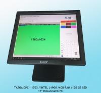 Tazga Dpc-1703 J1900/4GB/120GB/17 DOKUNMATİK PC