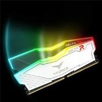 TEAM 16GB 2x8GB 3200MHZ DELTA RGB RAM BEYAZ TF4D416G3200HC16CDC01