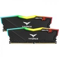 TEAM 16GB 2x8GB 3200MHZ DELTA RGB RAM SİYAH TF3D416G3200HC16CDC01