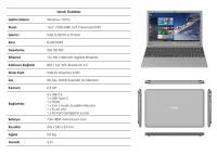 "TECHNOPC T15S-156 AURABOOK İNTEL İ5-5257U İşlemci 8GB 256GB 15,6"" FREEDOS"