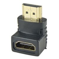 TeknoGreen TKD-200 HDMI Erkek-Dişi 90 derece Konnektör