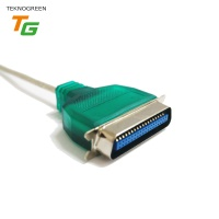 TeknoGreen TKU-036P 1.5 metre Usb – LPT Paralel Kablo Çevirici