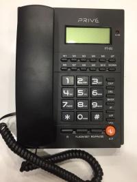 PRIVE YT-01 KABLOLU MASAÜSTÜ TELEFON