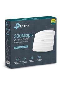 TP-LINK EAP110 2.4GHz 300Mbps 2x3dBi Wireless N Tavan Tipi Access Point