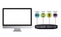 TP-LINK ( UH400)5Gbps Transfer Hızlı Tak ve kullan 4-Port USB ÇOKLAYICI