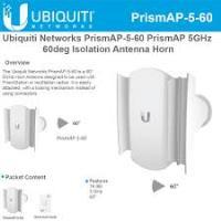 UBIQUITI (UBNT) 16dbi 450mbps 5ghz PrismStation PrismAP-5-60 1port 60° ~ 15km menzil Korna (Horn) Anten Outdoor