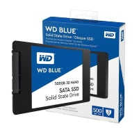 "W.DIGITAL WDS500G2B0A  Blue 2.5"" 500GB SSD SATA3 560/530"