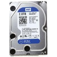 WD WESTERN DIGITAL WD20EZRZ 2TB 3.51 Sabit Disk - 5400 Rpm Blue Sata3 6Gbit/s 64Mb Cache