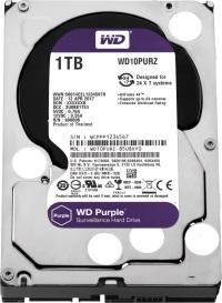 WD 1TB WD10PURZ Purple 64MB SATA3 6Gb/s HDD 7x24 Güvenlik Hard Disk 7/24