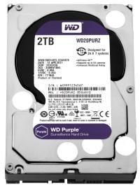 WD WD20PURZ Purple 2TB 64MB SATA3 6Gb/s HDD 7x24 Güvenlik Hard Diski 7/24