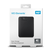 """Western Digital Elements Portable Black 4TB WDBU6Y0040BBK 2.5""""4TB HARİCİ DİSK"""