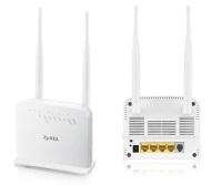ZYXEL P1302-T10D v3 300Mbps Kablosuz 4-Port 2x5dBi Antenli