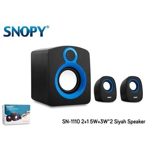 SNOPY  Sn-1110 2+1 5W+3W*2 Siyah Speaker