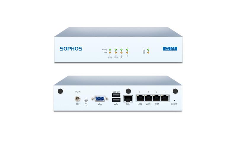 SOPHOS xg105 applıance fırewall cihazı