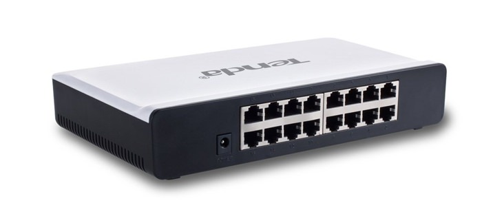 TENDA S16 16 PORT 10/100MBPS SWITCH BEYAZ