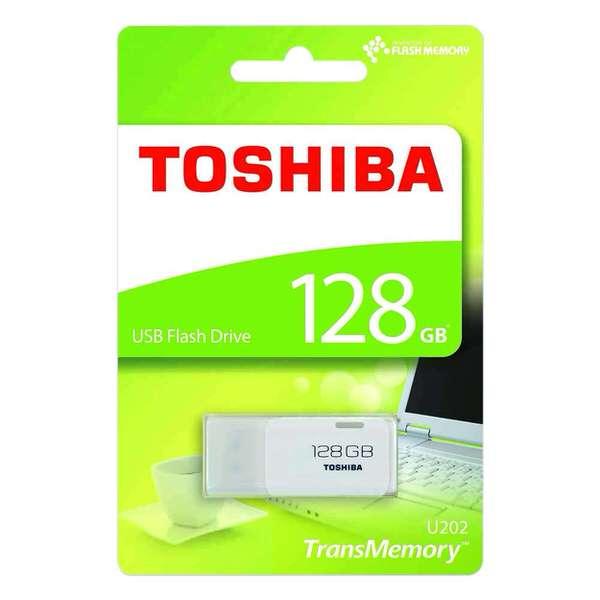 TOSHIBA  128GB HAYABUSA BEYAZ USB 2.0 HN-U202W1280U4