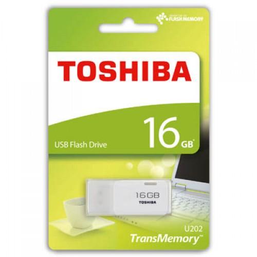 TOSHIBA 16GB Hayabusa Beyaz USB 2.0 Bellek