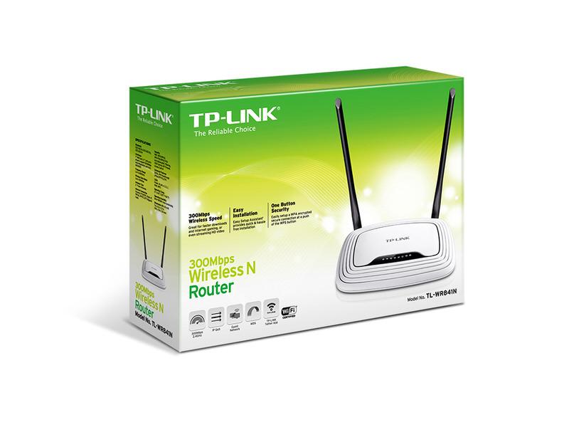 TP-LINK TL-WR841N 300Mbps Kablosuz 4 port  N Router