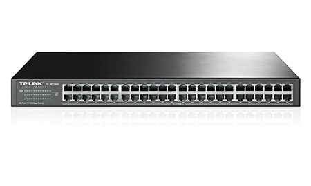 TP-LINK 48-Port 10/100Mbps Rackmount Switch TL-SF1048 -