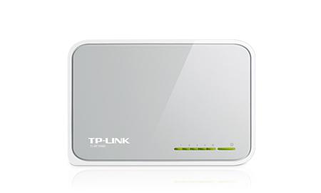 TP-LINK 5-Portlu 10/100Mbps Masaüstü Switch TL-SF1005D