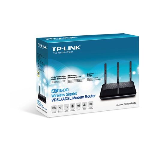 TP-LINK Archer VR600 1600Mbps Gigabit VDSL/ADSL2+ Modem