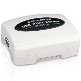 TP-LINK Tek USB2.0 Portlu Fast Ethernet Print Server TL-PS110U