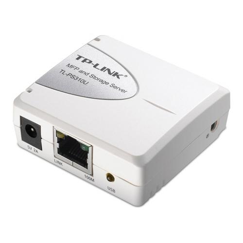 TP-LINK Tek USB2.0 Portlu MFP ve Storage Server TL-PS310U -