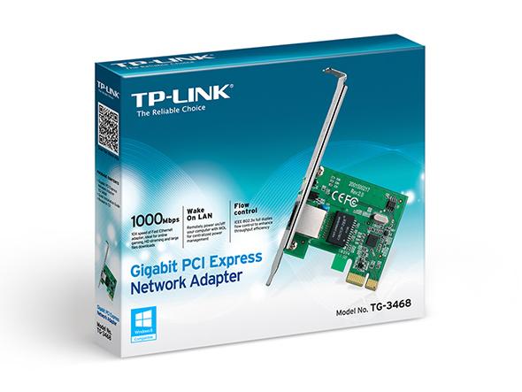 TP-LINK TG-3468 10/100/1000Mbps Gigabit PCI Express Network