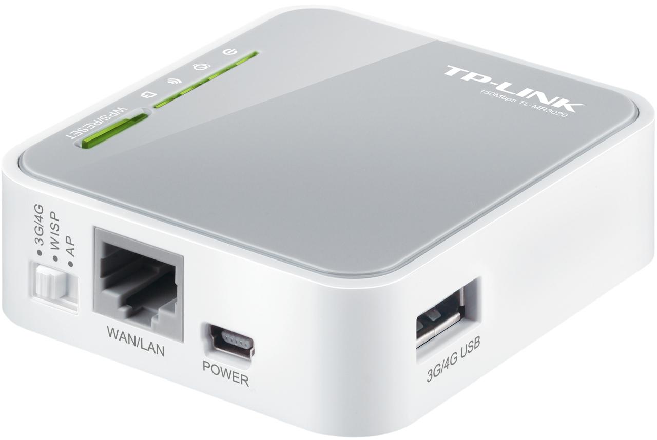 TP-LINK TL-MR3020 150Mbps N Kablosuz Taşınabilir WAN