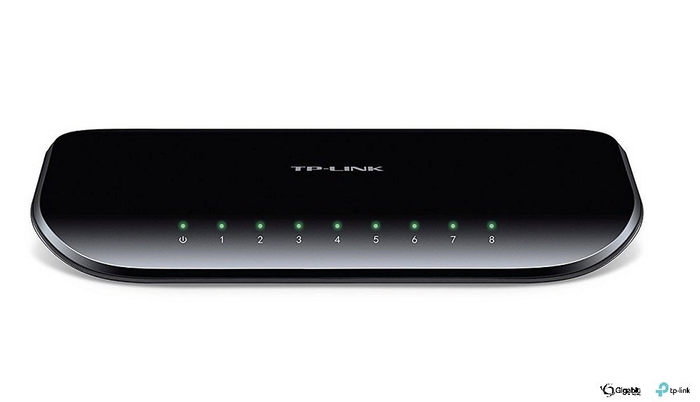 TP-LINK TL-SG1008D, 8 Port Gigabit, 10/100/1000 Mbit, Switch