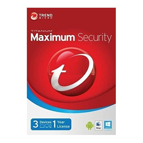 TRENDMICRO Titanium Maximum Sec. 3 Kullanıcı 1Yıl