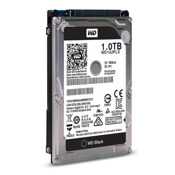 "WD 2.5"" 1TB Black Sata 3.0 7200Rpm 32MB Cache Notebook Harddisk"