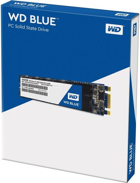 WD Blue 250GB M.2 SATA 540/500 G1B0B