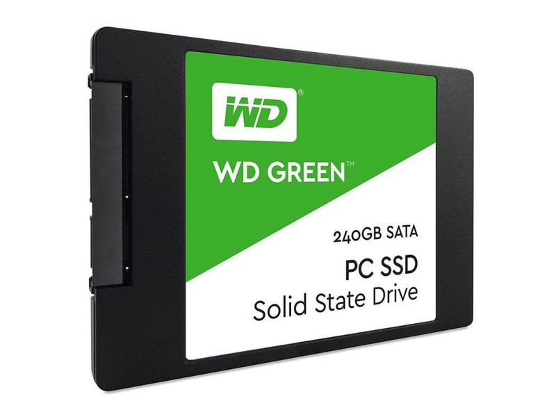 "WD GREEN 240GB SSD 2.5"" 7mm 545-465MB WDS240G2G0A"
