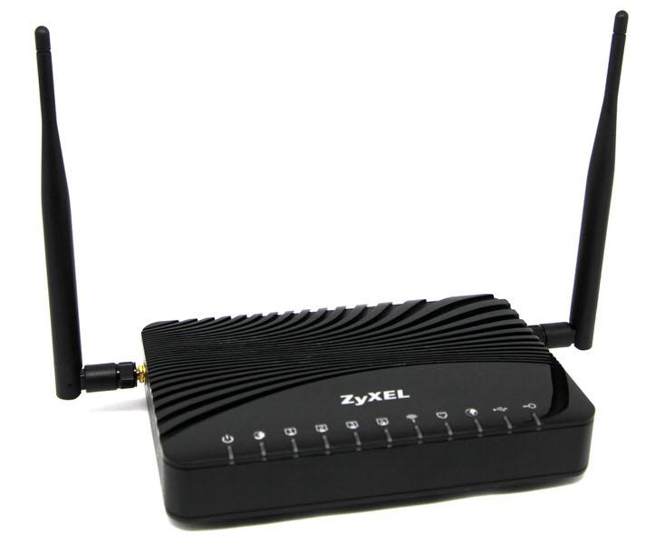 ZYXEL VMG3312 B-10A v2Kablosuz 300Mbps ADSL2+/VDSL2 3G Modem ...